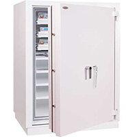 Phoenix Millennium Duplex DS4651K 234L Data Safe with Key Lock Grey