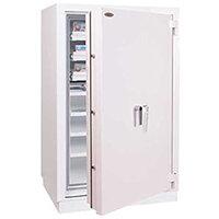 Phoenix Millennium Duplex DS4653K 418L Data Safe with Key Lock Grey