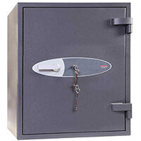 Phoenix Planet HS6072K 100L Security Safe With Key Lock Grey