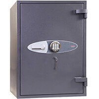 Phoenix Planet HS6076E 395L Security Safe With Electronic Lock Grey