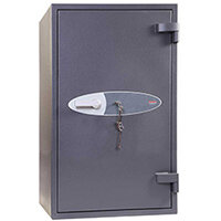 Phoenix Planet HS6076K 395L Security Safe With Key Lock Grey