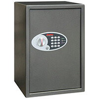 Phoenix Vela SS0804E Size 4 51L Home & Office Security Safe With Electronic Lock Metallic Graphite