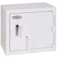Phoenix Securstore SS1161K 119L Security Safe With Key Lock White