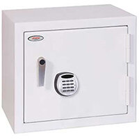 Phoenix Securstore SS1163E 385L Security Safe With Electronic Lock White