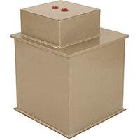Phoenix Tarvos UF0642K 12'' 25L 4K Underfloor Security Safe with Key Lock Gold