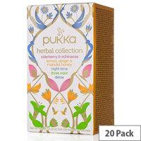 Pukka Herbal Heroes Tea Bags Organic Collection Pack of 20 P5042