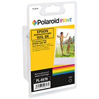 Polaroid Epson 16XL Remanufactured Inkjet Cartridge Black T163140-COMP PL
