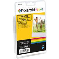 Polaroid Epson 79XL Remanufactured Inkjet Cartridge Cyan T790240-COMP PL