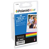 Polaroid HP 62XL Remanufactured CMY Tricolour Inkjet Cartridge C2P07AE-COMP PL