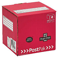 Postpak Mailing Box Cube Mail Box Pack of 20 P20