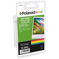 Polaroid Brother LC223BK Remanufactured Inkjet Cartridge Black LC223BK-COMP PL