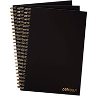 Pukka Hardcover Notebook B5 Black Pack of 3 9375-CD