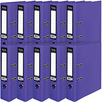 Pukka Brights Lever Arch File A4 Purple Pack of 10 BR-7762