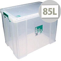 StoreStack 85L Plastic Storage Box W660xD440xH390mm RB11090