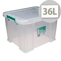 StoreStack 36 Litre Storage Box W480xD380xH320mm RB90124