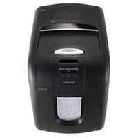 Rexel Optimum AutoFeed+ 150M Automatic Micro Cut Paper Shredder Black 2020150M