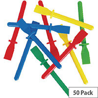 West Design Glue Spreaders Assorted Colours Pack of 50