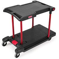 Rubbermaid Convertible Utility Cart Black