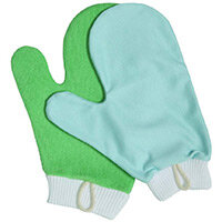 Rubbermaid HYGEN Microfiber All Purpose Mitt with Thumb Green