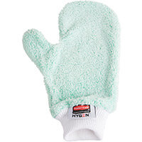 Rubbermaid Microfibre Dusting Mitt With Thumb Green