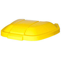 Rubbermaid Mobile Container Lid Yellow