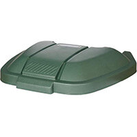 Rubbermaid Mobile Container Lid Green