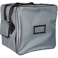 Rubbermaid Small Waste Carrying Bag With Grey Liner