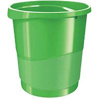 Rexel Choices Waste Bin Green 2115621