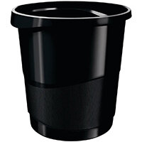 Rexel Choices Waste Bin Black 2115622