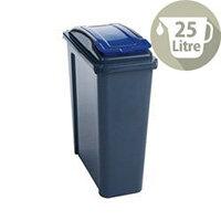 Vfm Recycling Waste Bin 25L Blue