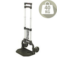 VFM Light Duty Folding Hand Truck With Rubber Wheels Capacity 40Kg 386091