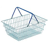 VFM Wire Shopping Baskets Pack of 5