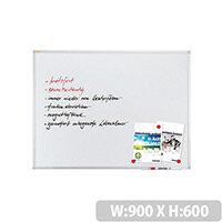 Franken Magnetic Whiteboard ValueLine 90x60cm Enameled SC3202