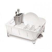 Simplehuman Compact Plastic Dishrack White KT1104