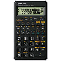 Sharp EL501T Entry Level Scientific Calculator EL501TBWH