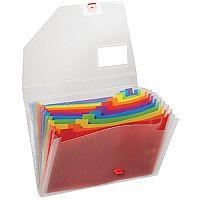 Snopake Rainbow Expanding Organiser A4 15768
