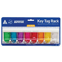 Kevron Standard Key Tags Assorted Pack of 8 ID6TRL