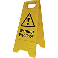 Spectrum Industrial Heavy Duty A Board Warning Wet Floor 4702