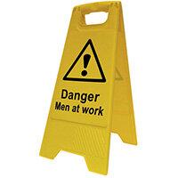 Spectrum Industrial Heavy Duty A Board Danger Men At Work 4710