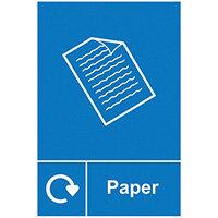 Spectrum Industrial Recycle Sign Paper 150x200mm SAV 18140
