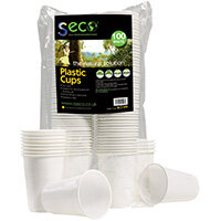 Seco Biodegradable Plastic Cups 7oz Pack of 100 BC7-WH
