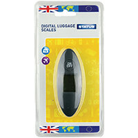 Status Compact Digital Luggage Scales Pack of 4 SDLSCALE1Pk4