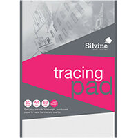 Silvine Everyday Tracing Pad 50 Sheets A4 A4T50