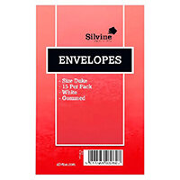 Silvine Duke Pre-Glued Envelopes Pack of 36 101-0174