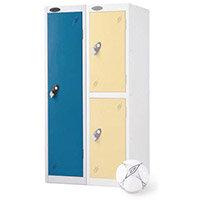 1 Door Low Locker Depth:305mm Blue Door