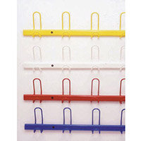 Heavy Duty Coat Rack Red