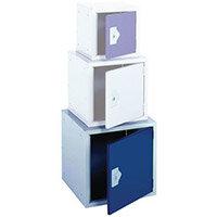 "Locker 18"" Cube Blue Door 457x457x457 Plain"