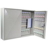 Adjustable Hook Key and Padlock Cabinets - Key Capacity 100