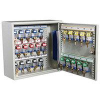 Cabinet Key Padlock Holds 25 Padlocks / Keys