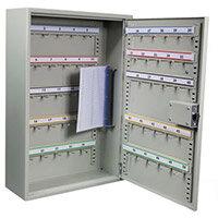 Adjustable Hook Key and Padlock Cabinet - Key Capacity 50